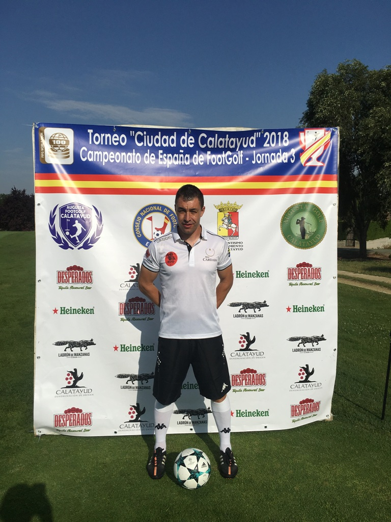 Guti FootGolf PhotoCall